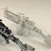 M249 Automatic Gun