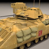 Military M2a2 Bradley Fighting Vehicle