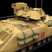 Us Army M2a3 Bradley Light Tank