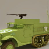 M3 Half-track Carrier Truck