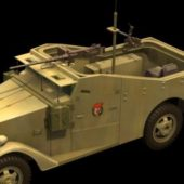 Military M3 Scout Car