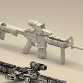 M4 Carbine Gun Weapons