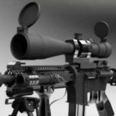 M4 Carbine Gun Scope