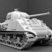 Weapon M4 Sherman Tank