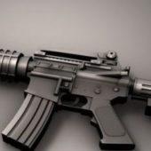 M4a1 Carbine Rifle Gun