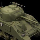Military M4a3 Sherman Medium Tank
