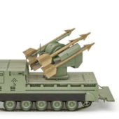 Military M730 Chaparral Missile Launcher