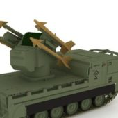 Military M730 Missile Launcher