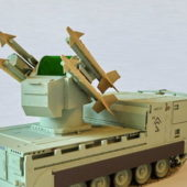 M730a1 Chaparral Military Missile System