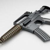 Weapon Gun M733 Commando