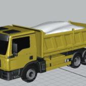 Transport Man Dump Truck