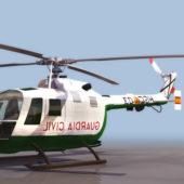 Bo 105 Light Utility Helicopter