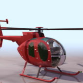 Md 500d Utility Helicopter