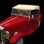 Mg Ta Midget 2-door Roadster Car