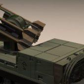 Military Mim-72 Chaparral Missile Launcher