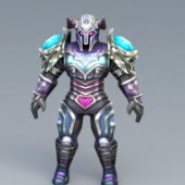 Magic Armor Game Character