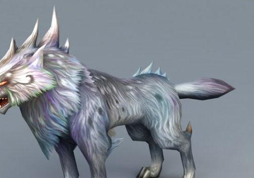 Magic Wolf Character