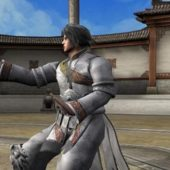 Male Martial Art Combat Character