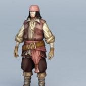 Male Pirate Gmae Character