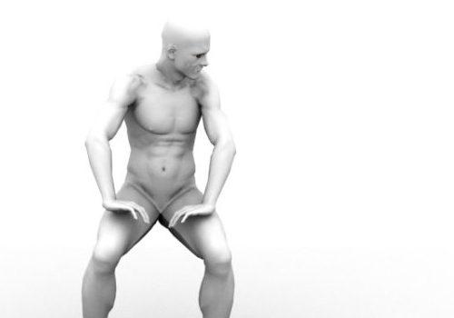 Character Male Figure