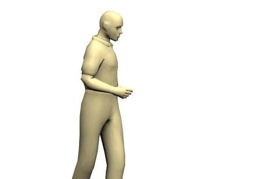 Man Jogging Character