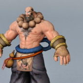 Game Character Martial Artist Monk