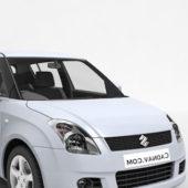 White Suzuki Swift Dzire Car