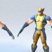 Marvel Wolverine Game Character