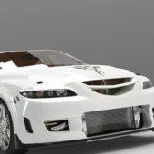 White Car Mazda Atenza