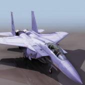 Mcdonnell Douglas F-15e Strike Fighter Aircraft