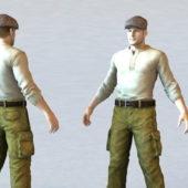 Mechanic Man Character