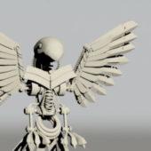 Mechanical Bird Skeleton