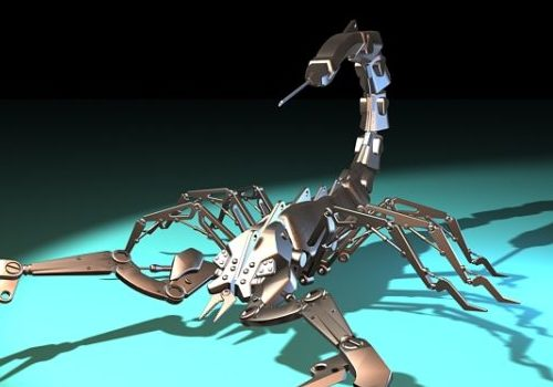 Robot Mechanical Scorpion