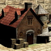 Medieval Vintage Blacksmith Forge