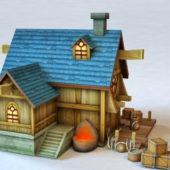 Medieval Shop House Design