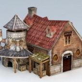 Medieval Workshop Building