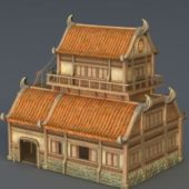 Old Style Medieval City House