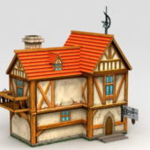 Western Medieval City House