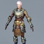 Game Character Medieval Kings Guard
