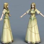 Medieval Princess Character