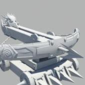 Military Medieval Siege Weapon Ballista