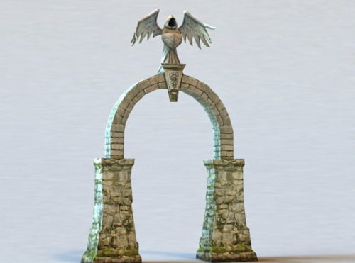 Medieval Architecture Stone Arch