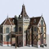 Western Medieval Town House