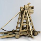 Medieval Trebuchet Structure