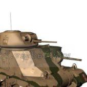 Military Medium Tank M3 Grant