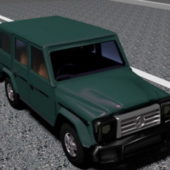 Vehicle Mercedes Benz G-wagen