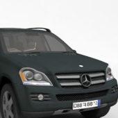 Black Mercedes Benz Gl Car