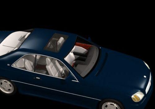 Vehicle Mercedes-benz S600 Luxury Car