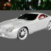 Mercedes Benz Slr Car Design