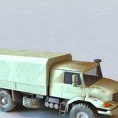 Mercedes Benz Zetros Militay Truck